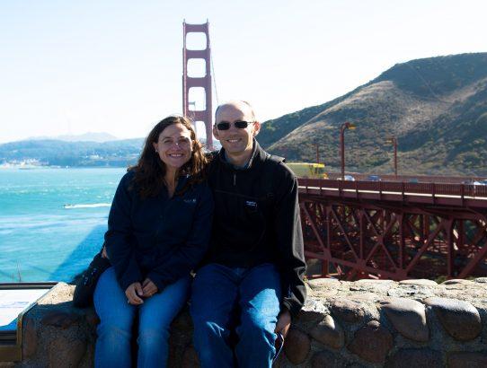 At Golden Gate Bridge