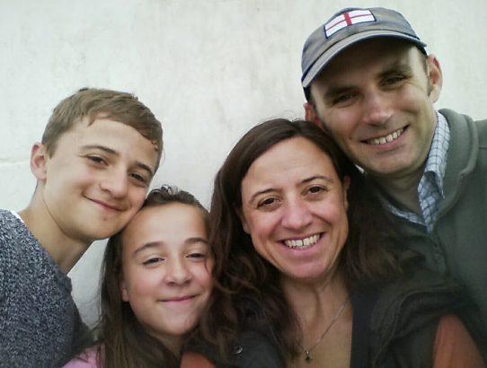 Famille Coe selfie